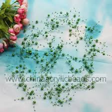 1 83m wholesale pearl beaded wire garland for yzb011