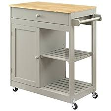cheap kitchen island carts andover mills guss kitchen island cart with butcher block