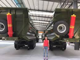 28cbm semi dump trailer dump truck trailer to transport sand and