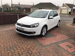 2011 vw golf gt 2 0 tdi bluemotion 140 5dr diesel white tax 30 6