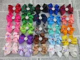 3 grosgrain ribbon aliexpress buy new design 3 grosgrain ribbon hair bows with