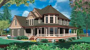 house plans with large porches house plan w3804 detail from drummondhouseplans cottage house