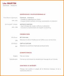 11 Exemple De Cv 3eme 7 Cv Pour Apprentissage Lettre De Preavis
