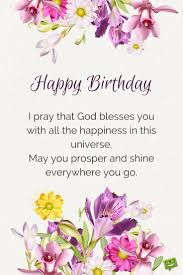 Happy Birthday Wish Blessings From The Heart Birthday Prayers As Warm Wishes