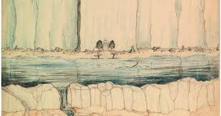 see the sketches j r r tolkien used to build middle earth wired