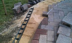 Build Paver Patio Backyard Landscaping Ideas The Process Of Building A Patio