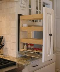 Spice Rack Countertop How To Add A Pullout Spice Rack