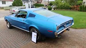 1965 to 1968 mustang fastback for sale sold 1968 ford mustang gt fastback for sale 428 scj 4 speed all