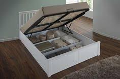 richmond grey fabric lift up ottoman storage bed fabric