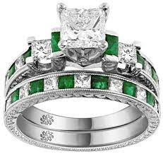 Birthstone Wedding Rings by Emerald And Diamond Rings On This Site You U0027ll Find Review Any