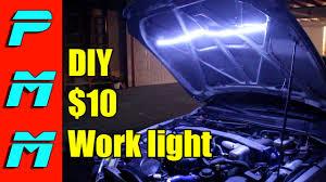 led automotive work light diy led underhood light work light youtube