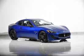 chrome blue maserati 2013 maserati granturismo mc stradale motorcar classics exotic