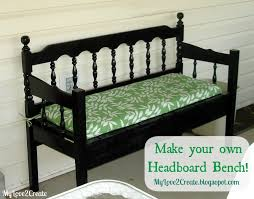 Bed Frame Bench 50 Headboard Bench Ideas My Repurposed