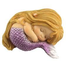 Mermaid Fairy Little Mermaid Sleeping Fairy Gardening Australia