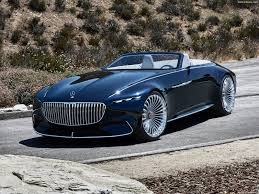 maybach and mercedes mercedes vision maybach 6 cabriolet concept 2017 pictures