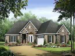New Style House Plans One Story Home Designs Among Popular Single Level Styles Ranch