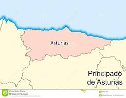 Pais Vasco Map Map Of The Spanish Autonomous Community Of Principado De Asturias