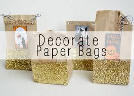 Decorated Paper How To Decorate Paper Bags Youtube
