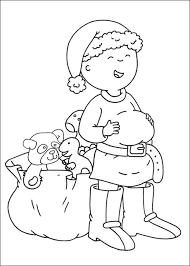 caillou books free kids coloring