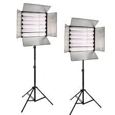 cheap studio lights for video 2x 6bank 2x 806