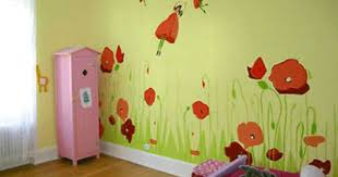 Cartoon Wall Painting In Bedroom Kids Bedroom Wall Painting Custom Childrens Bedroom Wall Painting