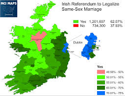 Dublin Ireland Map The Numbers Behind Ireland U0027s Historic Vote On Same Marriage