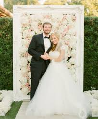 wedding backdrop trends a flower wall creates a wedding wow factor or stunning photo backdrop