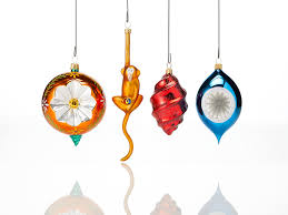 blown glass ornaments st nicholas blown glass