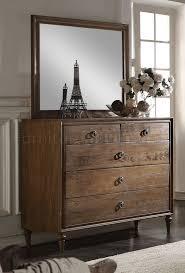 bedroom 26090 in reclaimed oak by acme w options