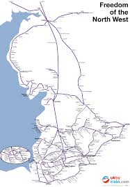 Map Of The Northwest Explore Northwest England With The Freedom Of The North West Rover
