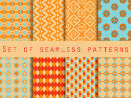 set of ethnic seamless patterns the pattern for wallpaper tiles