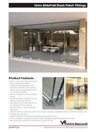 glass door patch fittings vetro stack doors u0026 moveable walls vetro raccordi glass