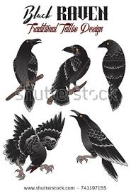 crow tattoo stock images royalty free images u0026 vectors shutterstock