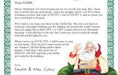 stunning microsoft word santa letter template images top resume