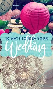 Ikea Vases Wedding 10 Ways To Ikea Your Wedding