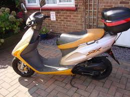 honda sfx honda sfx sport 50cc scooter 1996 p in colchester essex gumtree