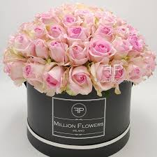 flowers roses pink roses box million flowers send flowers florpassion