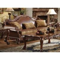 Gold Fabric Sofa Dresden Victorian Tufted Sofa In Champagne Velvet U0026 Gold Patina