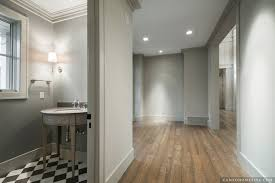 white and gray powder room contemporary bathroom artistic