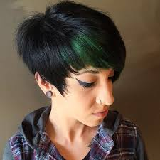 best highlights for pixie dark brown hair blonde red brown ombre ed and highlighted pixie cuts for any taste
