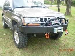 jeep grand cherokee bull bar c4x4 wj grand cherokee trailblazer winch bumper wj tbfwb