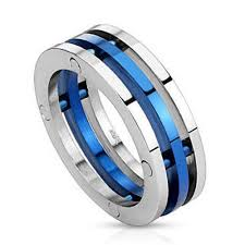 stainless steel rings for men 12 best stainless steel images on rings thin blue
