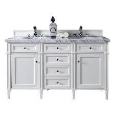 James Martin Bathroom Vanity by James Martin Signature Vanities Brittany 60 In W Double Vanity In