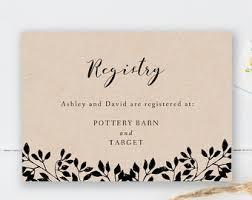 where to make a wedding registry wedding registry cards lilbibby
