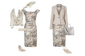 dress and jacket for wedding what to wear to a summer wedding country house looking stylish