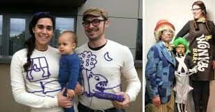 Dr Seuss Family Halloween Costumes by 16 Clever Family Halloween Costume Ideas For 2017