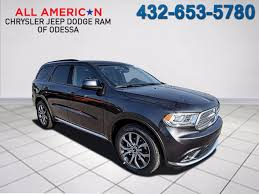 dodge durango in odessa tx all american chrysler jeep dodge of