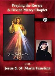 rosary cd praying the rosary mercy chaplet with jesus st