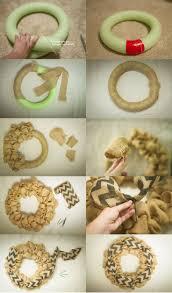 best 25 burlap wreath tutorial ideas on pinterest wreath