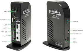 plugable usb c triple display docking station with displaylink usb